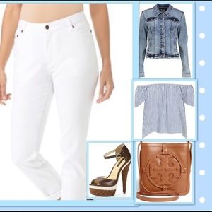 High Waisted  Denim Jeans-NWOT